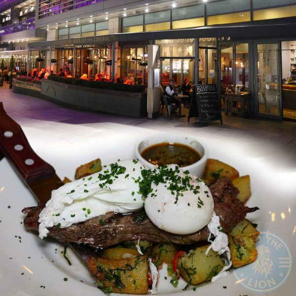 Balans Shepherd's Bush, Westfield London Halal restaurant Soho
