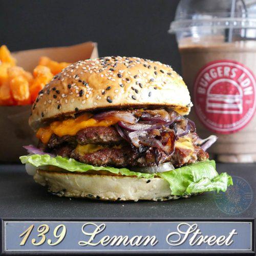 Burger LDN dark kitchen halal burgers London Whitechapel