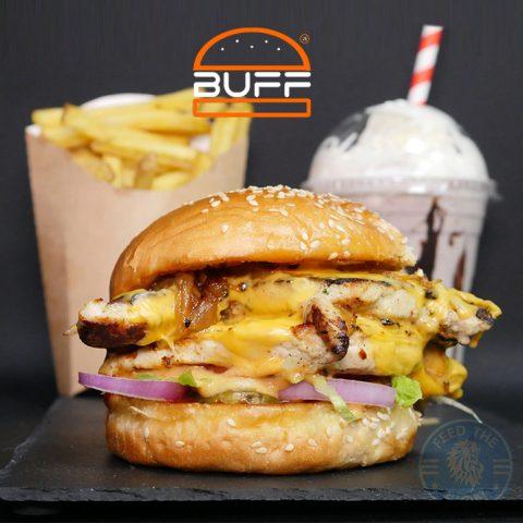 Buff Burgers HMC Halal gourmet grill London Edmonton