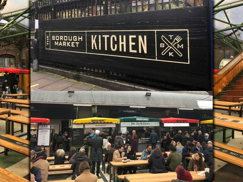 Brough Market Kitchen Halal Food London