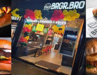 Brgr Bro Halal Burger Sliders Restaurant Manchester