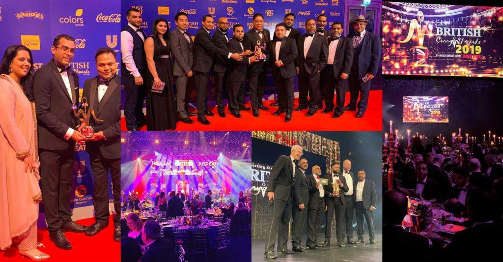 British Curry Awards 2019 Halal Restaurants