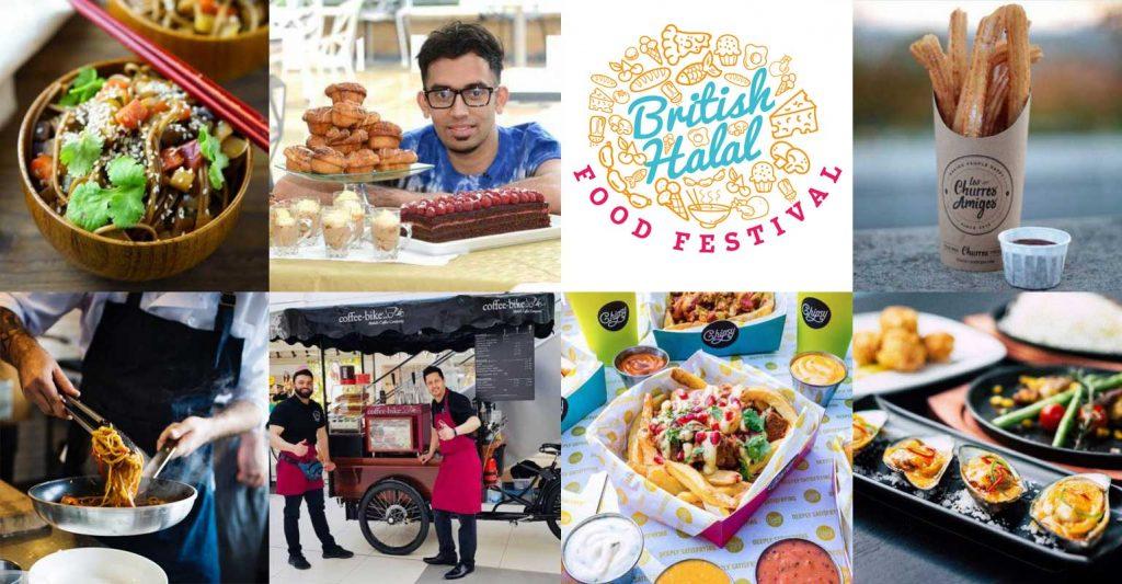 British Halal Food Festival Birmingham restaurants Street
