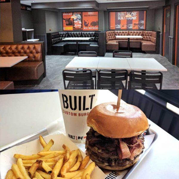 Built Custom Burgers Ealing Broadway Haalal