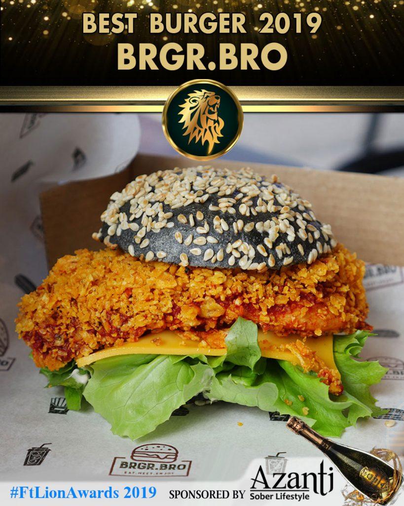 Brgr.bro Feed the Lion 2019 award winners