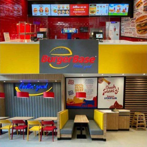 Burger Base Halal McDonald's Restaurant Wales Cwmbran