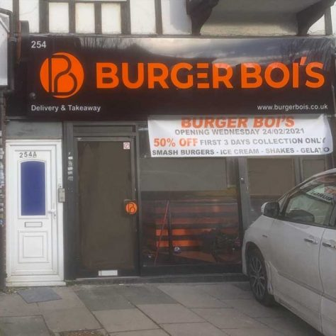 Burger Bois Halal Harrow London Restaurant