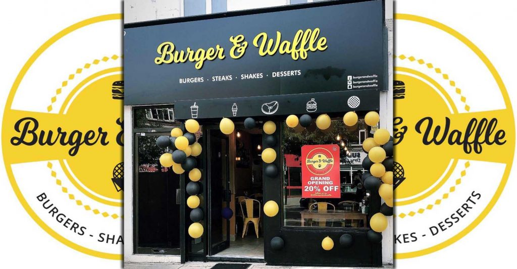 Burger Waffle Opens In Londons Sudbury With 20 Off