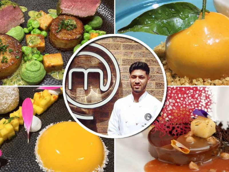 Masterchef The Professionals BBC Burhan Ahmed Muslim Chef