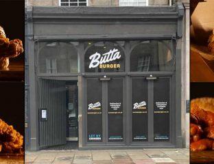 Butta Burger Halal Restaurant Edinburgh Scotland