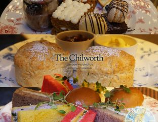 Halal English Afternoon Tea at The Chilworth Hotel Paddington