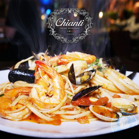 Chianti Italian restaurant West Ealing, London Halal pasta pizza