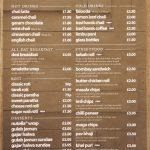 menu breakfast Chaii Wala Indian Halal restaurant Coventry Road Birmingham