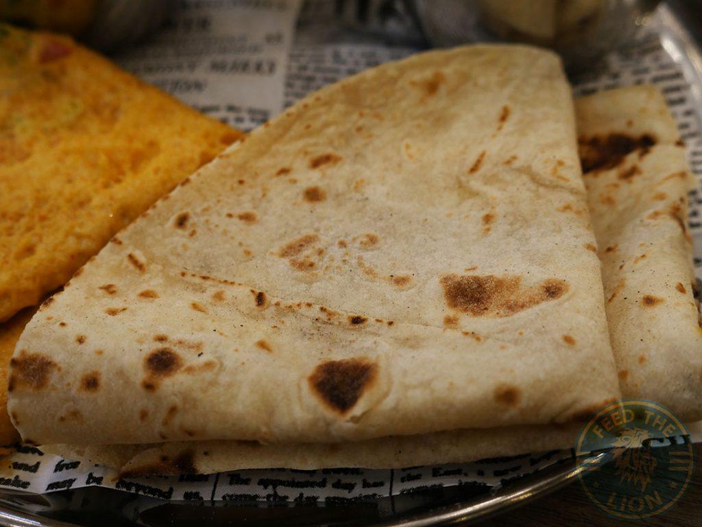 roti breakfast Chaii Wala Indian Halal restaurant Coventry Road Birmingham