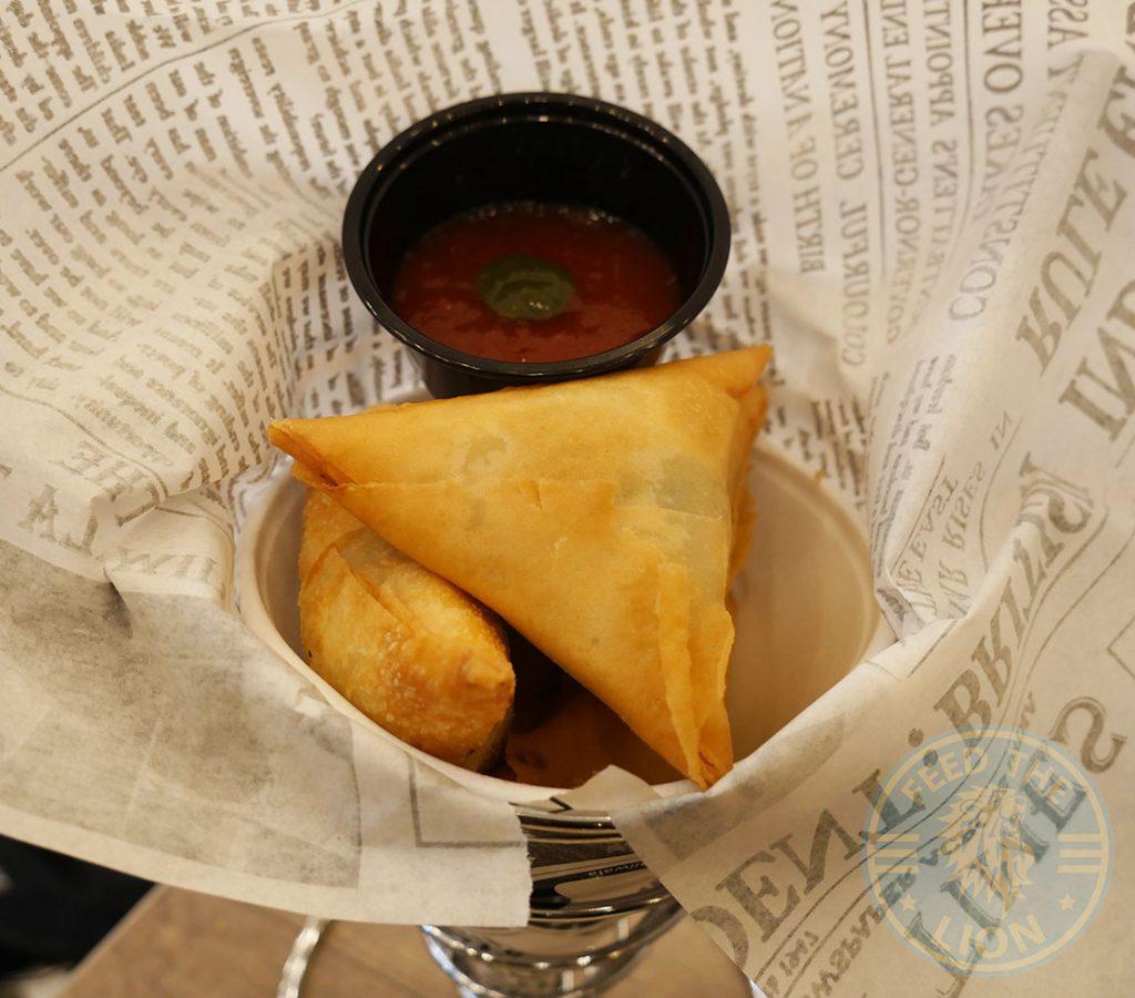 samosa breakfast Chaii Wala Indian Halal restaurant Coventry Road Birmingham