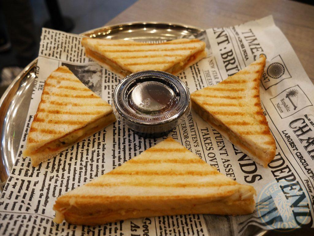 sandwich Chaii Wala Indian Halal restaurant Coventry Road Birmingham