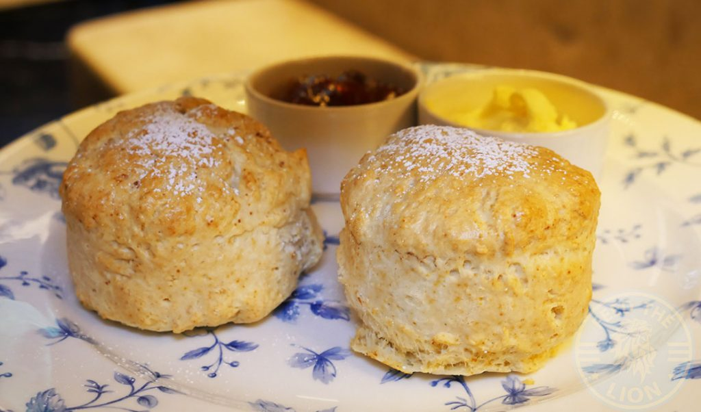 Halal English Afternoon Tea at The Chilworth Hotel Paddington