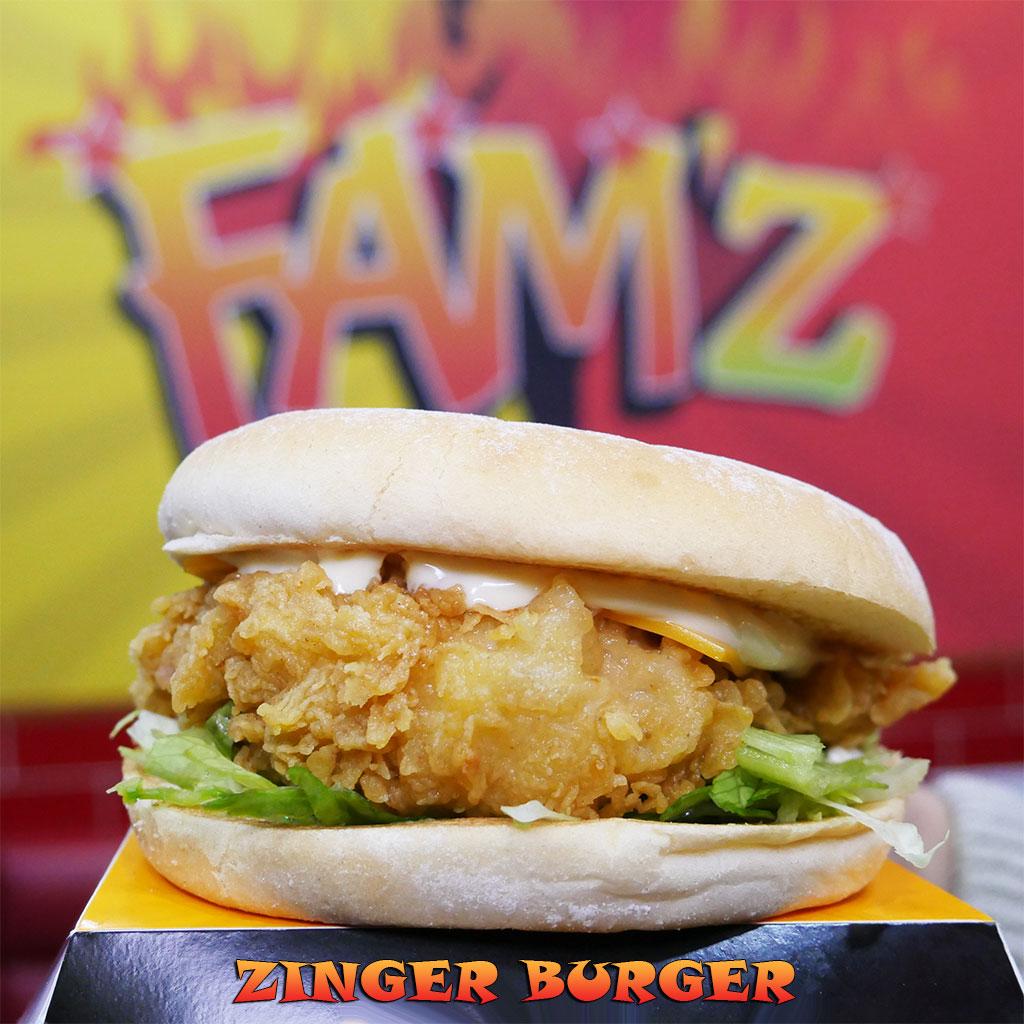 Famz Peri Peri Halal Burgers Chicken Gants Hill London