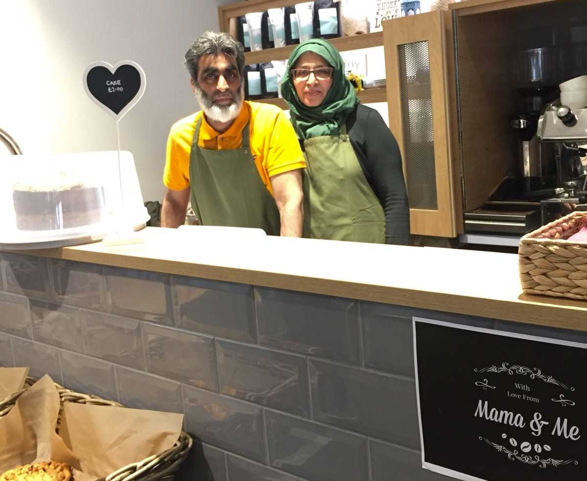 Cafe Mama & Me Halal Hanwell Community Centre London Breakfast