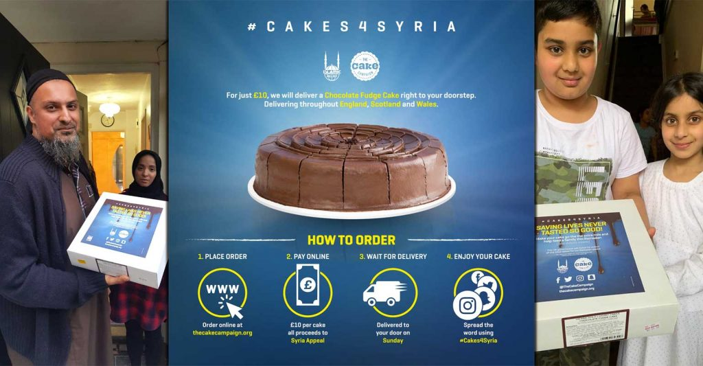 #Cake4Syria The Cake Campaign Islamic Relief Syria Appeal Ramadan
