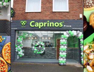 Caprinos Pizza Halal Restaurant Birmingham