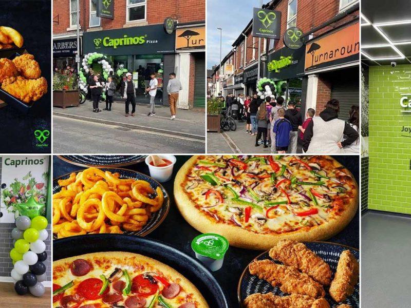 Caprinos Halal Pizza Restaurant Meir Stroud
