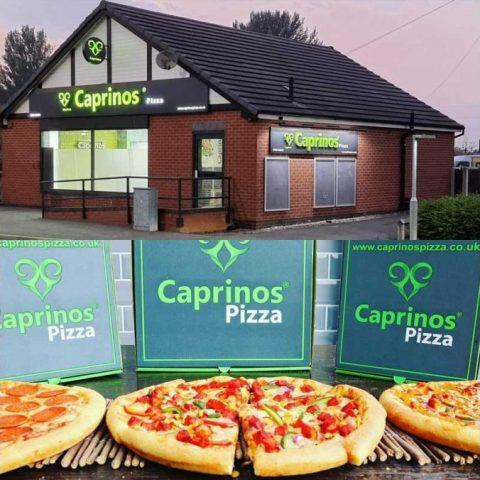 Caprinos Pizza Halal Restaurant Northwich Cheshire