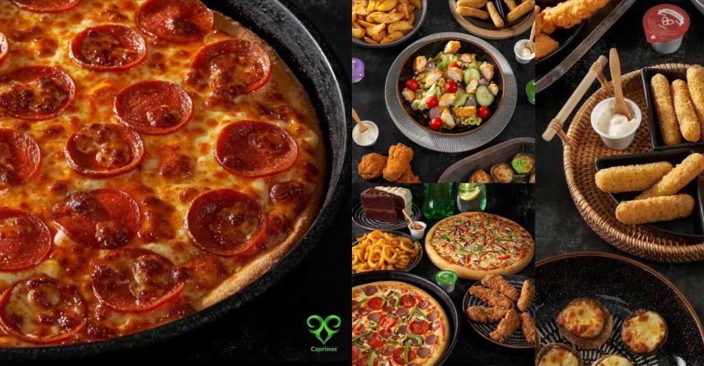 Caprino's Pizza Halal Restaurant London Pinner