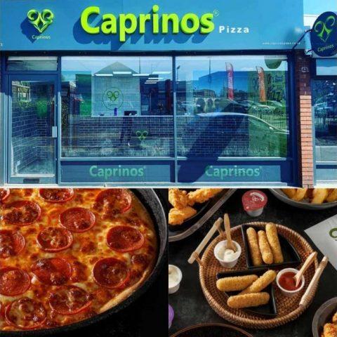 Caprino's Pizza Shrewsbury Halal Restaurant Shropshire