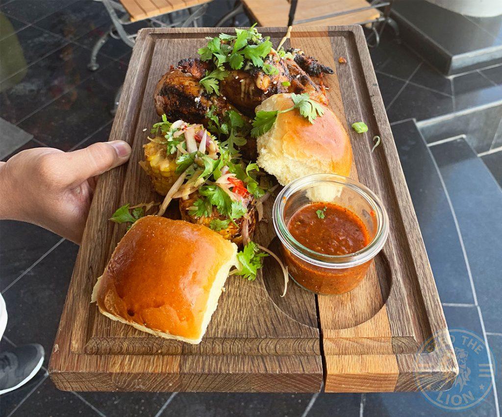 Copper Restaurant, Muscat, Oman BBQ Peri Peri Chicken