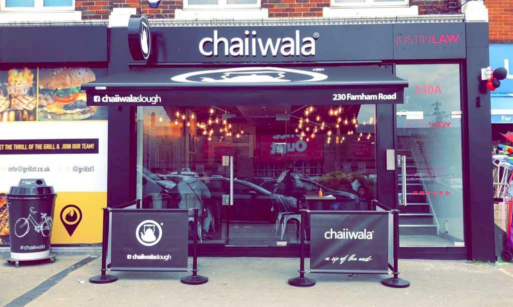 Chaiiwala Indian Tea Cafe Halal Restaurant Slough Farnham Road