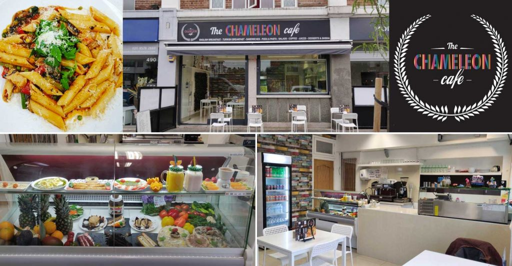 The Chameleon Cafe Greenford Halal Breakfast London