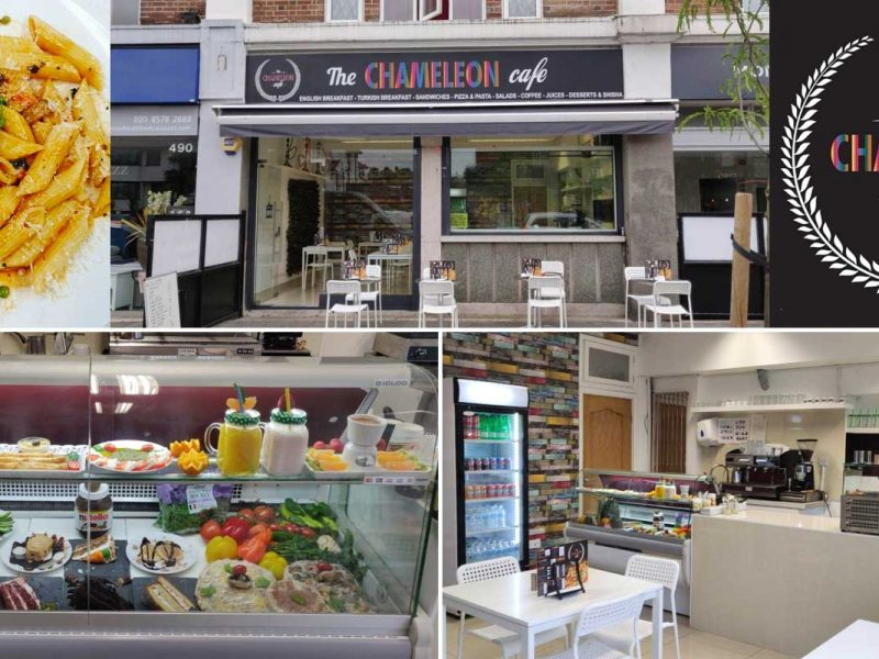 The Chameleon Cafe Greenford Halal Breakfast London