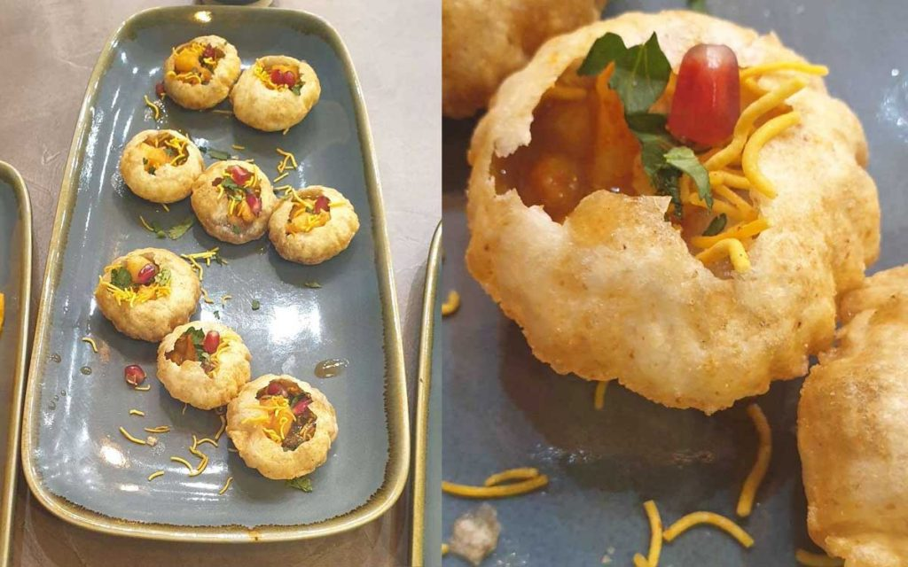 Pani Puri Chapatea Indian Street Food Tea Leciester Leciestershire Halal Restaurant