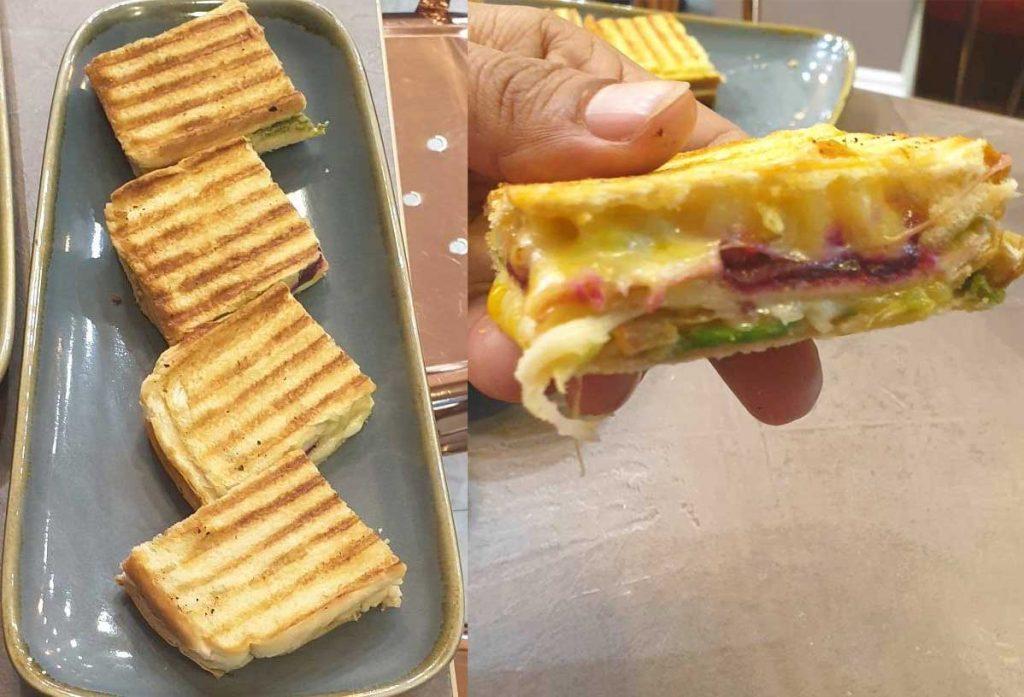 Sandwich Chapatea Indian Street Food Tea Leciester Leciestershire Halal Restaurant
