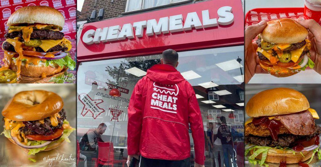 Cheatmeals Halal Burgers Restaurant Hayes London