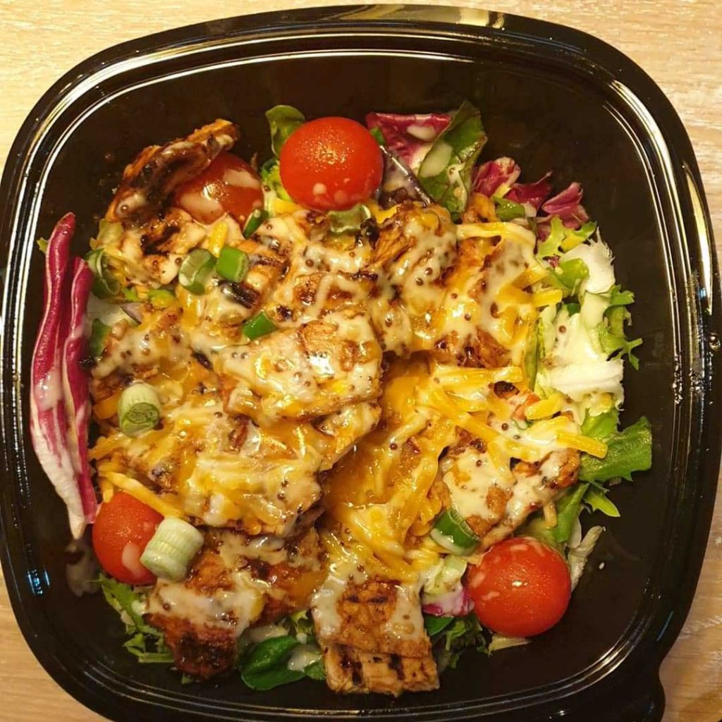 Salad Chickano's Chicken Burgers Leicester