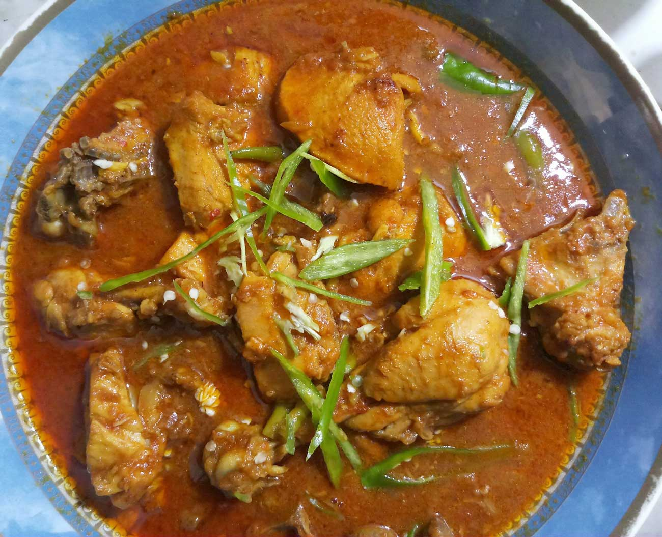 Chicken Karahi - Annie's Cooking - Feed the Lion