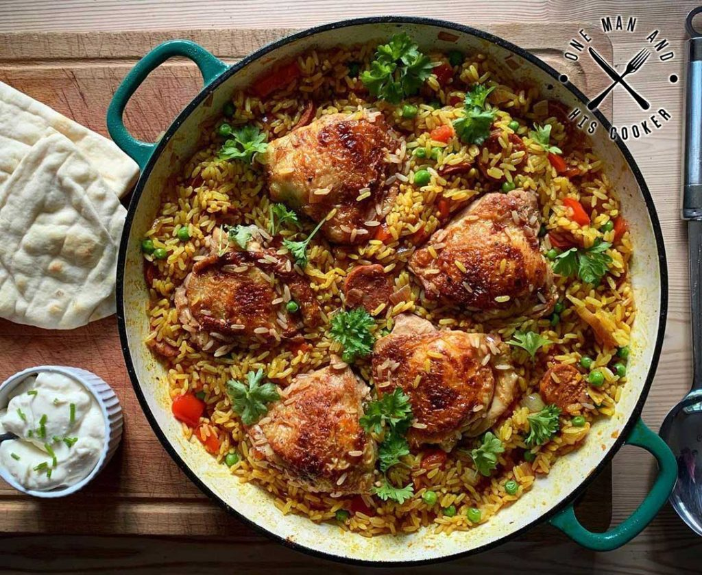 One Man And His Cooker Chicken Dish Recipe