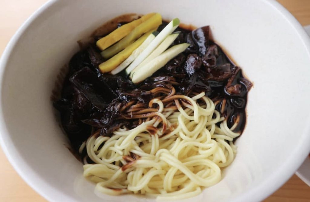Chingu 'Fan' Cafe Halal Indonesia Korea JAJANGMYEON 2390 W/23.9K IDR
