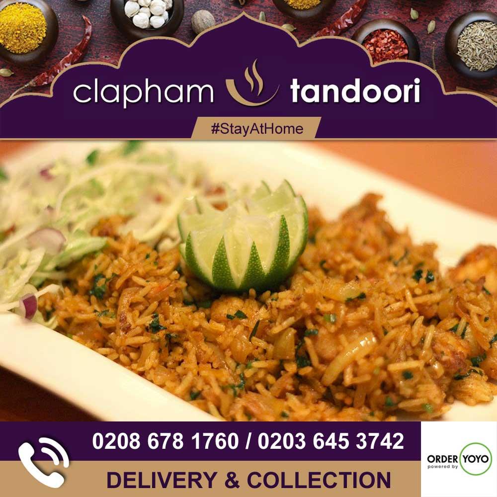 Clapham Tandoori Tooting London Delivery Takeaway