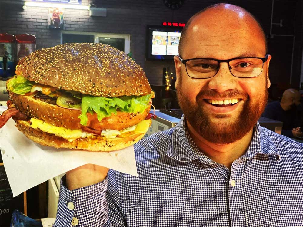 The Clubhouse Crawley Giant Burger