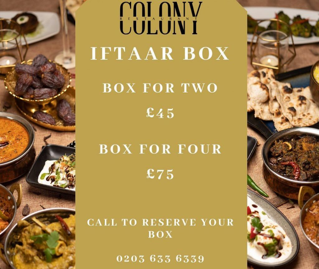 Colony Ilford London Halal Restaurant