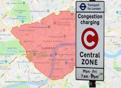 Congestion Charge Zone London Halal Restaurants
