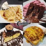 waffle Creams dessert restaurant Ealing Broadway Ice Cream