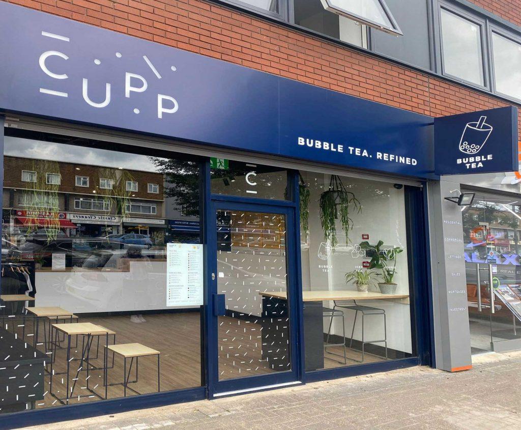 Cupp Bubble Tea Halal Restaurant Slough Farnham Road