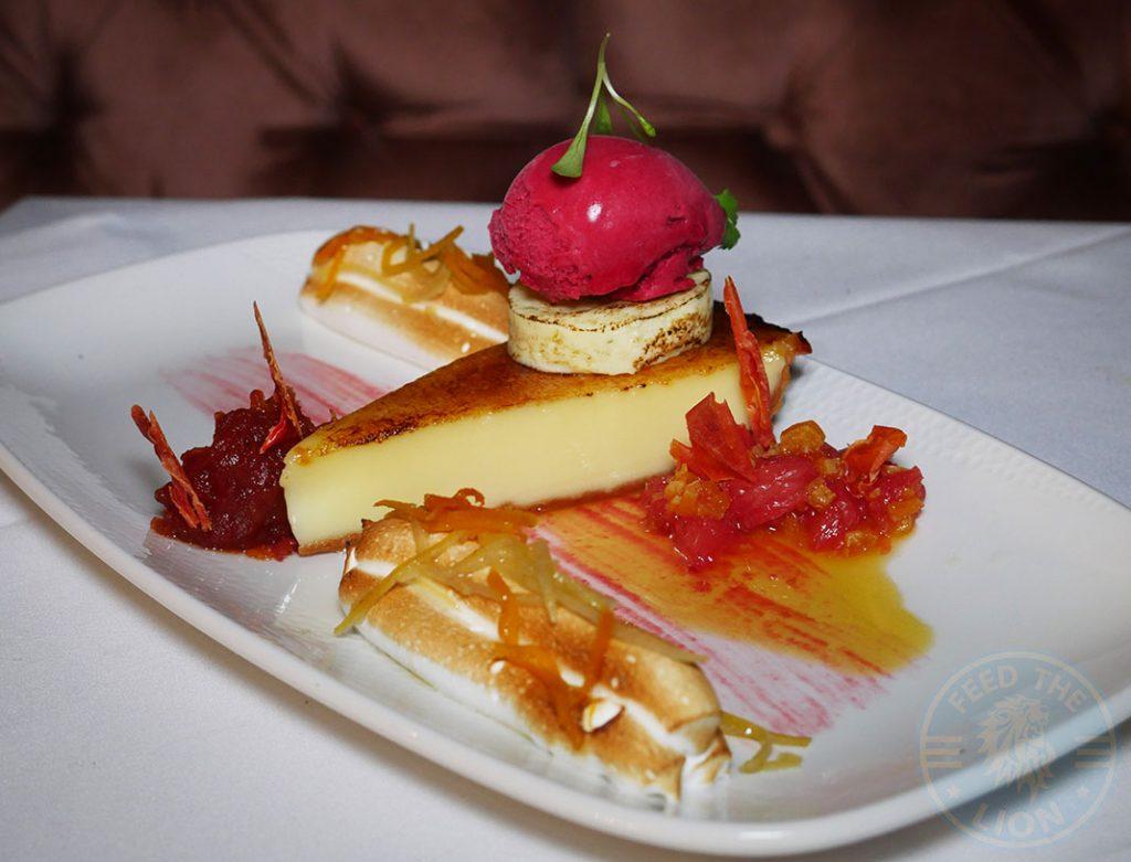 dessert DUSK Brentwood Halal Essex restaurant Fine Dining