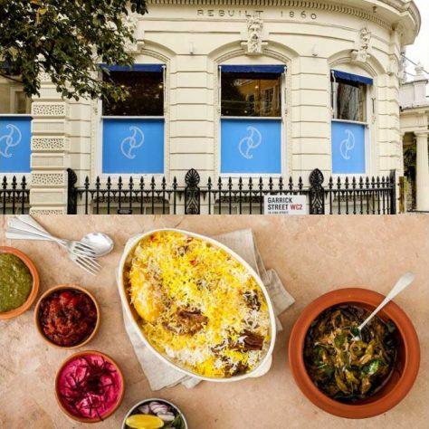 Darjeeling Express Covent Garden London Halal Restaurant
