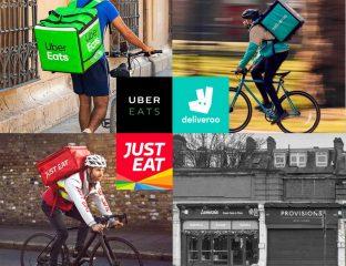 Deliveroo Just Eat Uber Eats