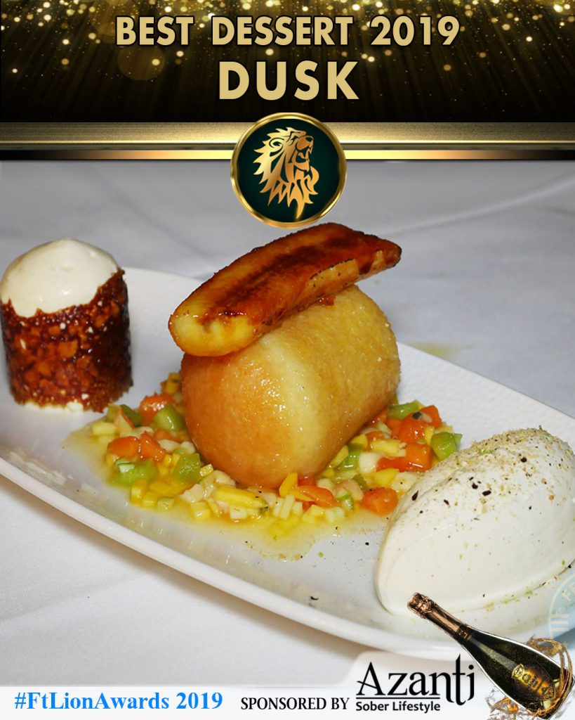 Dessert Dusk Essex Awards Restaurant